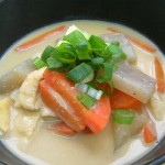 Sake lees soup recipe