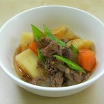 Nikujaga(beef and potatoes) recipe