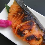 Grilled miso marinated salmon recipe