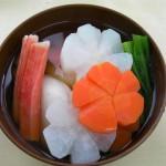 Zoni soup Japanese food recipes