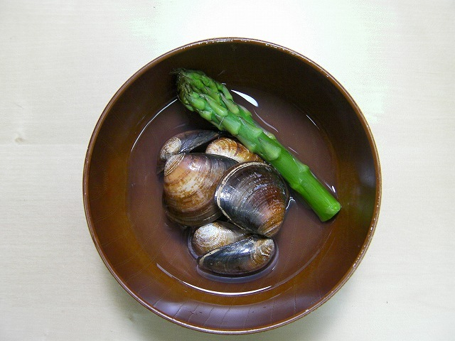 Japanese clam soup recipe