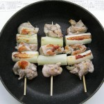 Yakitori recipe(chicken skewer)