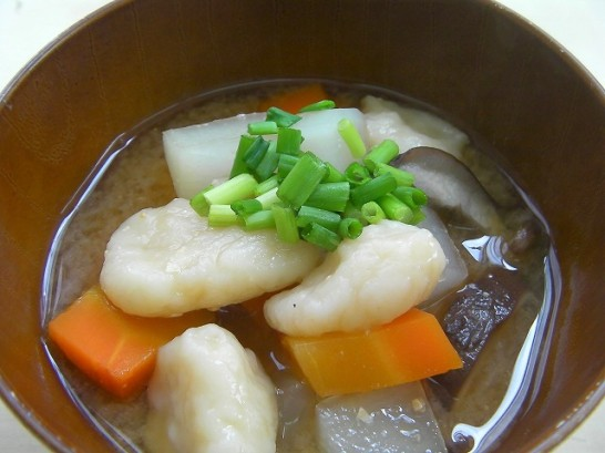 Dago-jiru recipe -Kumamoto soul food- (2)