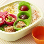 Side dish case on bento