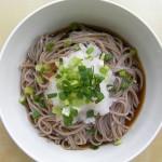 Oroshi soba noodle recipe