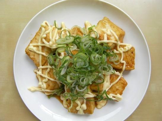 tofu teriyaki with mayonnaise (2)