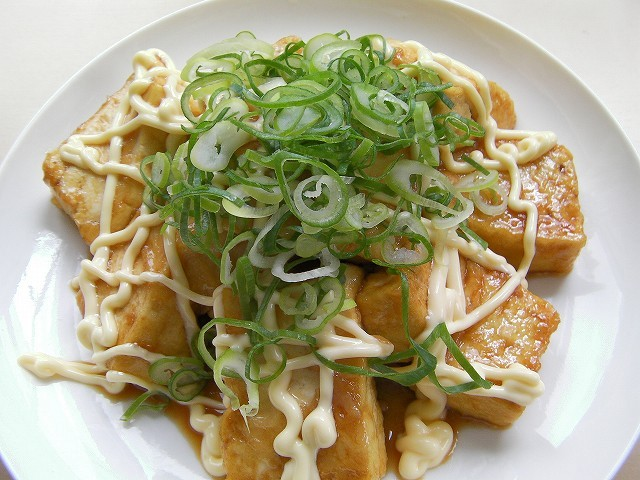 tofu teriyaki with mayonnaise (6)