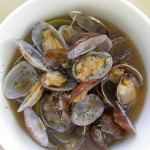 Sake steamed Clams recipe