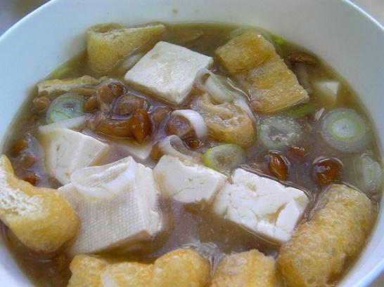 Natto soup (3)