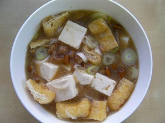 Natto soup (4)