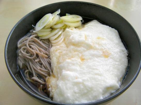 Yamakake soba (4)