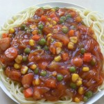 Ankake Spaghetti recipe