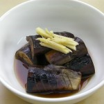 Eggplant in bonito broth recipe