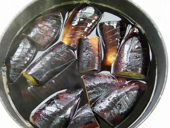Eggplant in bonito broth (6)
