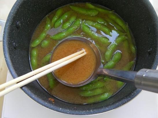Edamame miso soup (5)