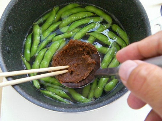 Edamame miso soup (6)