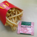 Sakura salt for fried potato in McDonald's