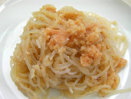 Shirataki and salted cod roe (3)