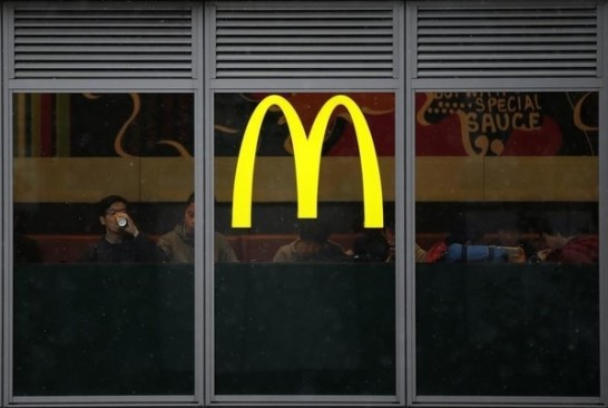 This photo is the crisis of McDonald's.