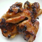 Chicken Teriyaki with honey sauce recipe