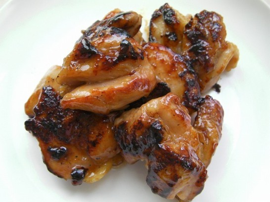 Chicken Teriyaki with honey sauce (2)