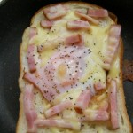 Carbonara toast recipe